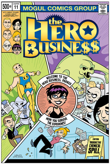 "Bonus! ""Welcome To The Hero Business, Parker. Hope You Survive The Experience!"""