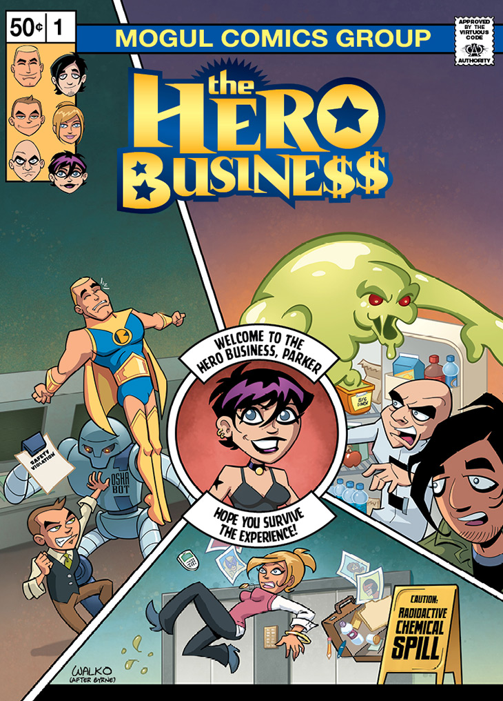 Hero Business Cover #1 Remastered