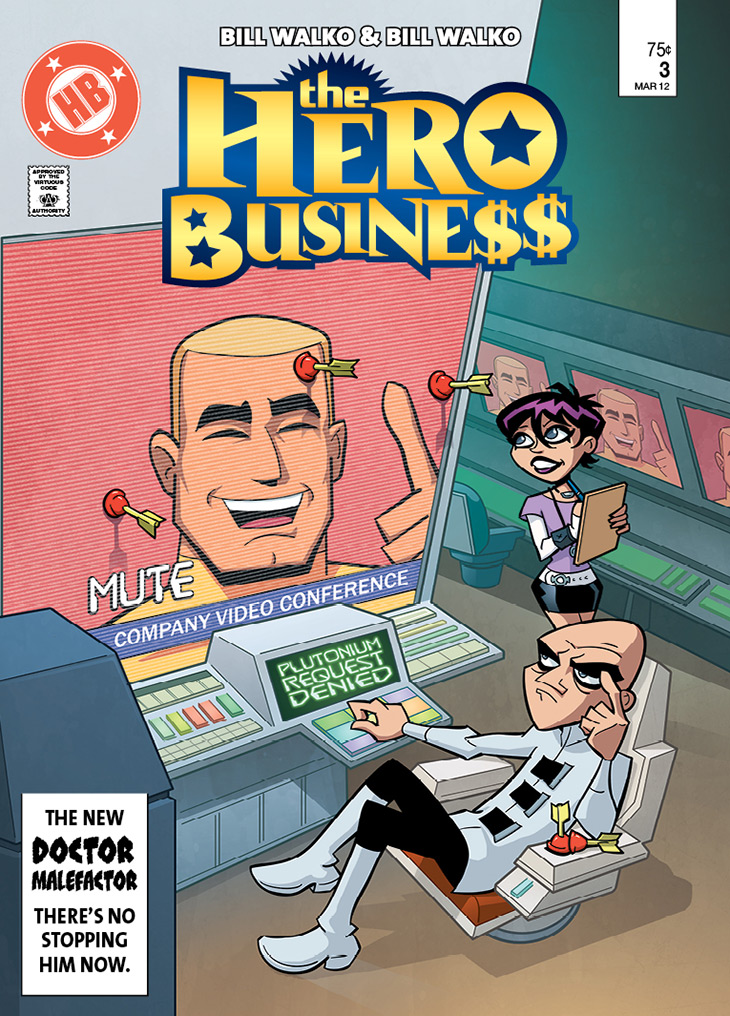 Hero Business Cover #3 Remastered