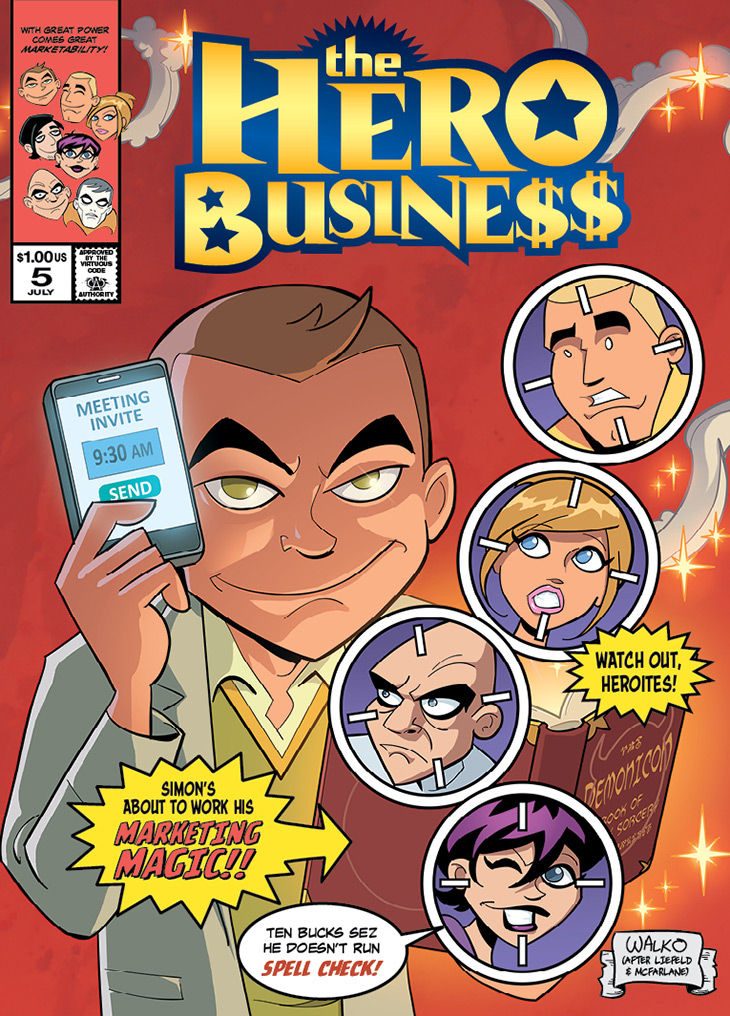 Hero Business Cover #5 Remastered