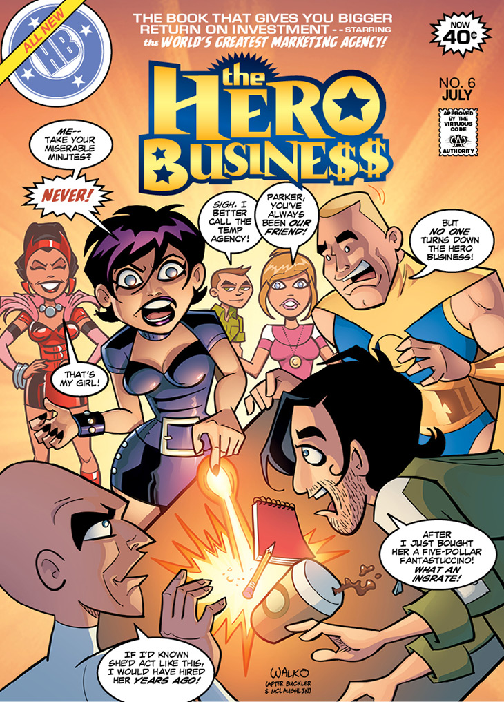 Hero Business Cover #6 Remastered